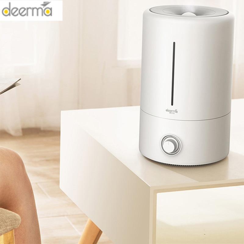 Original Deerma 5L Air Humidifier Mute Ultrasonic Aroma Diffuser Household Mist Maker Fogger Purifying Humidifier Oil