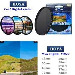 HOYA CPL 49 52 55 58 62 67 72 77 82mm Pro1 Digital CPL CIRCULAR Polarizer Camera Lens Filter for SLR Camera