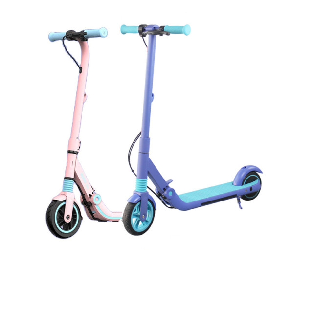 Rulind Q8 Kick Scooter Children 200w Power 21.6v Foldable Child's Electric Skateboard Max 14km Electric Scooter For Children 1