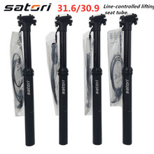 Seatpost Dropper Bike External Retratil Canote Satori Height-Adjustable Hidraulico MTB