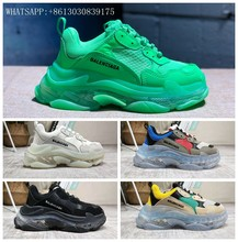 2019 NEW TRIPLE S TRAINERS RARE EDITION FOR MEN/WOMEN DAD SHOES SNEAKERS EUR 36-44 H100(China)