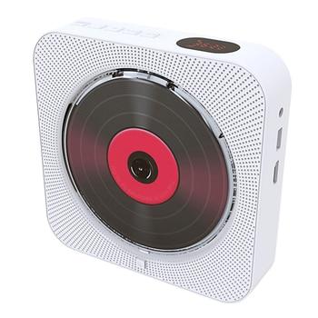DVD Wandhalterung | DVD Player Wand Montieren Tragbare Bluetooth Home Audio Boombox Bluetooth CD/DVD Alle-in-einem Player Wireless Fernbedienung FM Radio