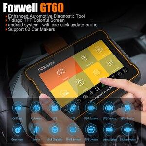 Image 3 - FOXWELL GT60 Scanner de Diagnostic automobile, outil de Diagnostic de voiture, système complet, ABS SRS EPB DPF, réinitialisation de lhuile, PK MK808, câble OBD2
