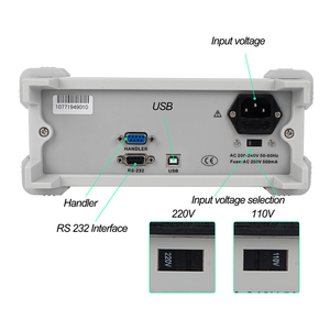 Image 4 - ET4501 ET4502 ET4510 L RC Benchtop הדיגיטלי השולחני גשר LCR Tester מד קיבול התנגדות עכבת השראות למדוד