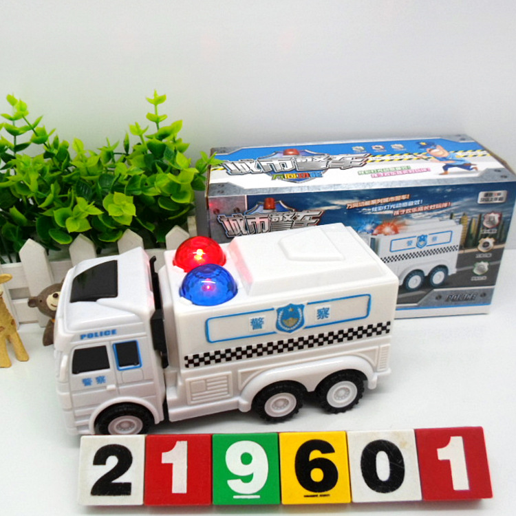 Hot Sales 2022 Lighting Electric Universal Model City Police Car Children'S Educational Early Childhood Toy Car