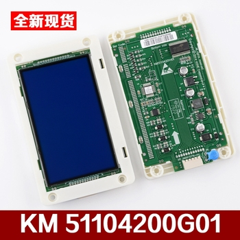 1pcs  KONE Elevator Accessories LCD Screen Calling Board KM51104200G01 AQ1H492 elevator display board km853300g13 853303h03