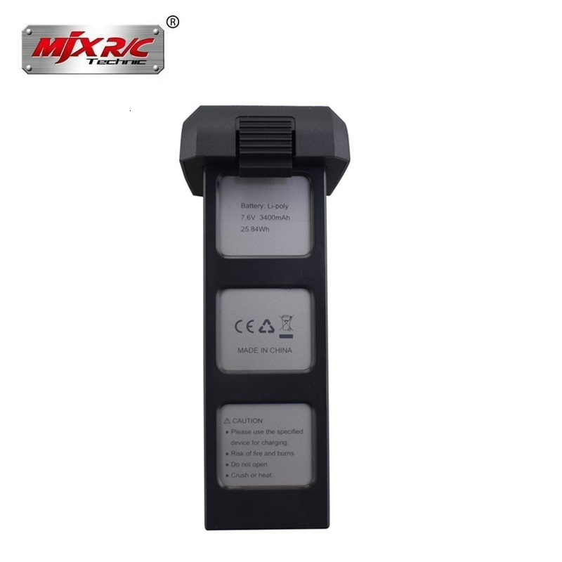 Original 7.6v 3400mah Li po Battery For Mjx Bugs 4W B4W 7.6v Battery For Potensic D88 EX3 HS550 JJRC X11 Rc Drones Spare Parts|Parts & Accessories| |  - title=
