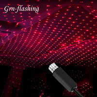 Mini 5V USB LED Star Laser Projector Light for Car Dj Disco Stage Effects Lights Night Lamp Home Party New Year Christmas Light