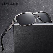 New Men's Polarized Sunglasses High-Quality Driving Fishing Sun Glasses For Men Vintage Metal Male Shades Man Anti-glare UV400