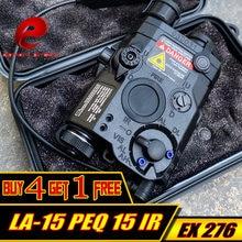 Тактический фонарь для охоты element softair la 15 peq красный