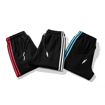 Plus Size 8xl 7xl 6xl Mens Casual Sports Pants Loose Version Fitness Running Trousers Summer Workout Pants Sweatpants 3 Stripes 1