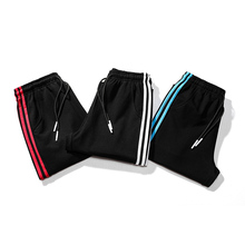 Plus Size 8xl 7xl 6xl Mens Casual Sports Pants Loose Version Fitness Running Trousers Summer Workout Pants Sweatpants 3 Stripes