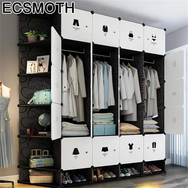 Per La Casa Placard Meuble Armoire Rangement Garderobe font b Closet b font Mueble De Dormitorio