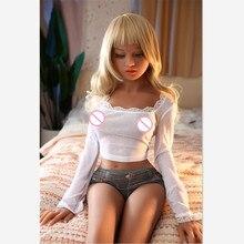 YANNOVA #58 150 centimetri bambola di amore TPE con lo scheletro in metallo bambola del sesso sexy donna reale del sesso del silicone bambola uomo la realtà