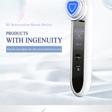 Tinwong LED Photon Light Therapy RF EMS Skin Rejuvenation Face Lifting Tighten Massager Beauty Skin Care Tool Face Massage