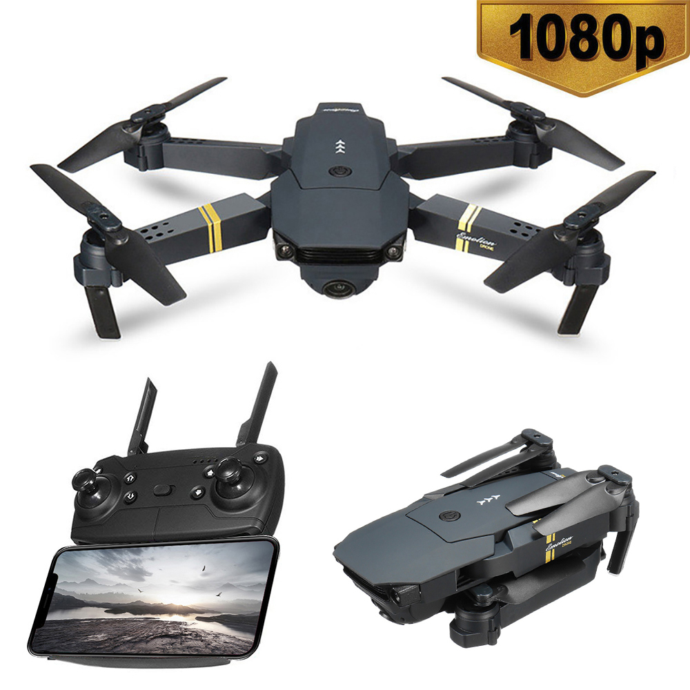 1080P WIFI FPV With Wide Angle HD Camera Drones Hight Hold Mode Foldable Arm RC Quadcopter Drone X Pro RTF Dron Toys image