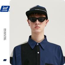 Baseball-Cap Snapback Summer Cotton INFLATION Casual One-Size Adjustable Contrast-Color
