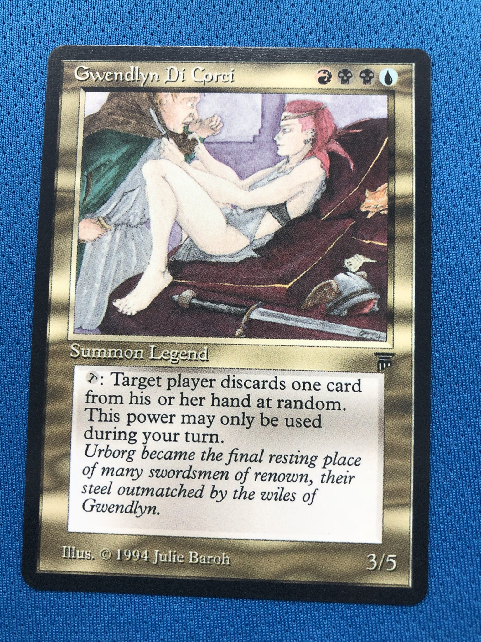 Gwendlyn Di Corci  LG LGD Lengends Legends Magician ProxyKing 8.0 VIP The Proxy Cards To Gathering Every Single Mg Card.