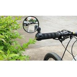 Универсальный 1x Универсальный руль велосипеда мини-зеркало заднего вида регулируется вращающийся для горного велосипеда дорожный велосип...