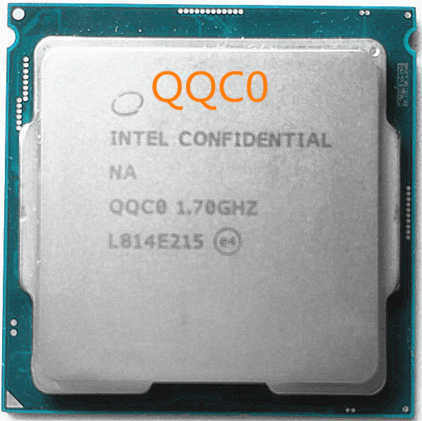 Intel Core i9 9900T procesador ES/QS CPU i9 9900T QQC0 6core 16 hilo de 1,7 GHz ~ 3,2 GHz 16MB 14nm 35W FCLGA1151-in CPUs from Computer & Office