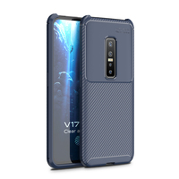 style protective For Vivo V17 Pro Case Business Style Silicon Rubber Shell TPU Back Phone Cover For Vivo V17 Pro Protective Case For Vivo V17 Pro (3)