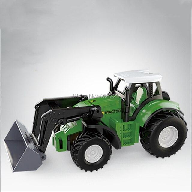 RC Mini Farmer Car, Die-Casting Farm Tractors, Craze Match New Driving Emotion Radio Control Car Run Rac, Super Impetus R/C Toys 2