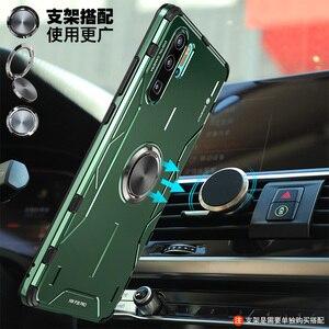 Image 4 - Sihirli zırh Metal alüminyum kılıf için Huawei P30 Pro Mate 30 20 Pro kılıf yumuşak silikon darbeye kapak için Huawei nova 5 Pro çapa