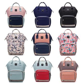 LEQUEEN Fashion Mummy Maternity Nappy Bag Large Capacity Diaper Bag Travel Stroller Backpack Designer Nursing Bag for Baby Care