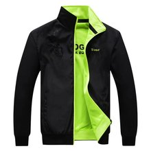 New Spring Autumn Men'S Sports Jacket Flying Jacket Thin Section, Windproof And Breathable Baseball Jackets