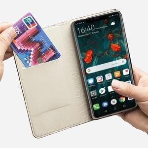 Image 5 - Para LG V30 V40 V50 ThinQ G6 G7 Q6 Q7 K11 K4 K8 K10 2018 Srylor 3 4 Estojo de Couro cabeça de Dragão luxo Tampa Articulada