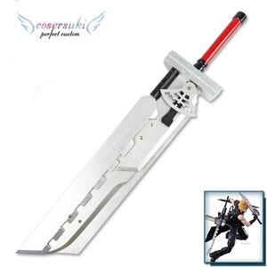 Image 2 - Final Fantasy VII FF7 Cloud Strife arma desmontable de madera, 110CM, Cosplay, espada de utilería