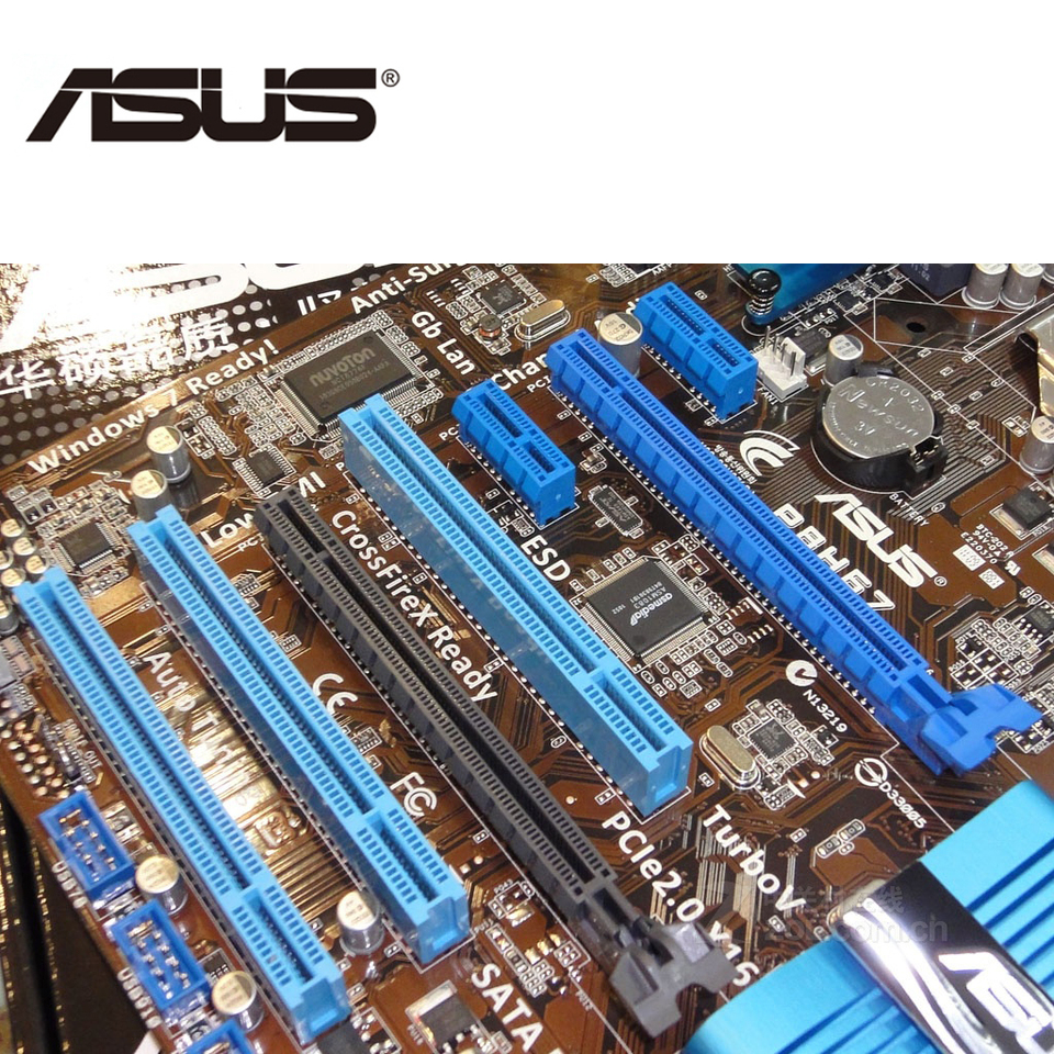 2GB Memory Upgrade for ASUS P8 Motherboard P8B75-M LX Plus DDR3 PC3-10600 1333MHz DIMM Non-ECC Desktop RAM PARTS-QUICK Brand