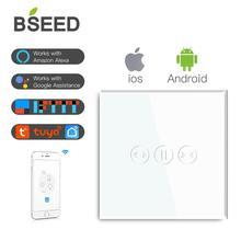 BSEED Wifi Smart Tende Interruttore Senza Fili Interruttore Wifi Bianco Nero Oro Colori Supporto Per Tuya Google Assistente