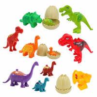 Jurassic Park Bausteine Spielzeug Dinosaurier Tyrannosaurus Rex Modelle Grundplatte Jungen Geburtstag Geschenk Kompatibel mit Duplo 4