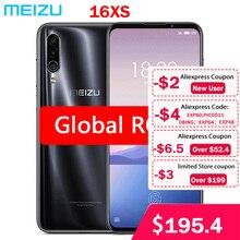 """הגלובלי ROM Meizu 16XS 6GB RAM 16 XS חכם טלפון Snapdragon 675 6.2 """"48MP לשלושה מצלמה AI קדמי 16MP 4000mAh"""