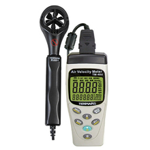 TENMARS TM-404  Anemometer Use For Measures Air Speed, Temperature ,Humidity,Air Moisture and Absolute Pressure,New.