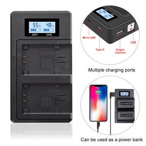 Image 1 - PALO NP FV100 NP FV100 NPFV100 FV100 LCD USB Battery Charger per SONY NP FV30 NP FV50 NP FV70 SX83E SX63E FDR AX100E