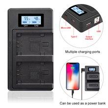 PALO NP FV100 NP FV100 NPFV100 FV100 LCD USB Chargeur De Batterie pour SONY NP FV30 NP FV50 NP FV70 SX83E SX63E FDR AX100E