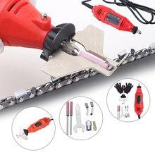 3700 tr/min 180W 5 vitesses électrique scie à chaîne affûteuse meuleuse Machine outils de jardin Portable électrique tronçonneuse affûtage