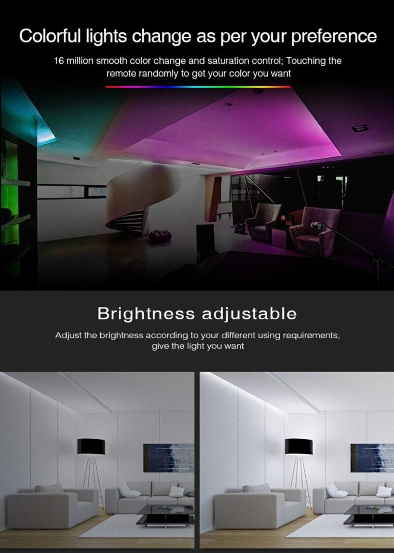 RGB + CCT DC12-24V Trabalho de Casa