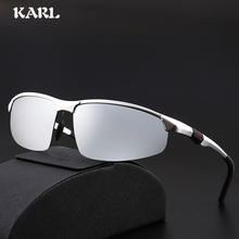 Aviation Quality Aluminum Magnesium Metal Sunglasses Polarized Mirror Men Outdoor Driving Sports Eyewear Male Goggle