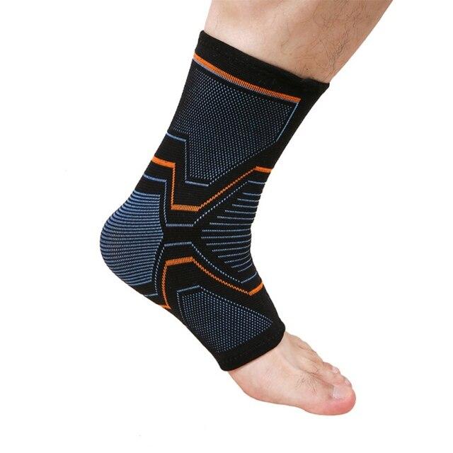 Supporto Elastico Traspirante per la Compressione Della Caviglia 2
