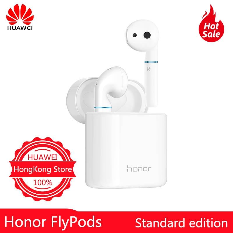 Huawei Honor FlyPods dans l'oreille Bluetooth 5.0 charge écouteur sans fil basse stéréo écouteurs avec micro mains libres écouteurs AI contrôle