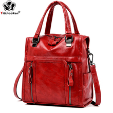 купить Fashion Women Backpack Shoulder Bag Leather Backpacks Female Multifunction School Bags for Teenage Girls Mochila Feminina 2019 по цене 1624.45 рублей