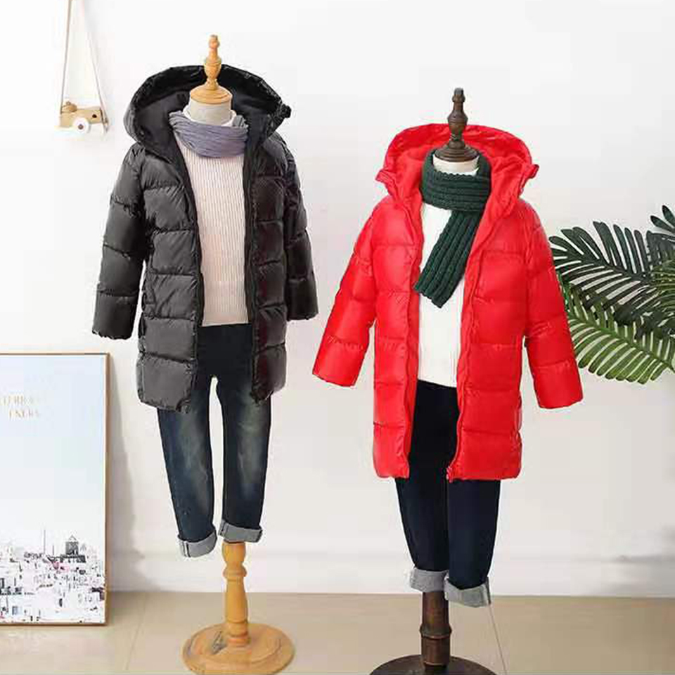 <font><b>Winter</b></font> New 2019 <font><b>Children</b></font> Boys Girls Parkas Zipper Kids Coat Girl Outerwear Jackets <font><b>For</b></font> 3 4 6 <font><b>8</b></font> 10 12 <font><b>Year</b></font> Old Boys Girl <font><b>Clothes</b></font> image
