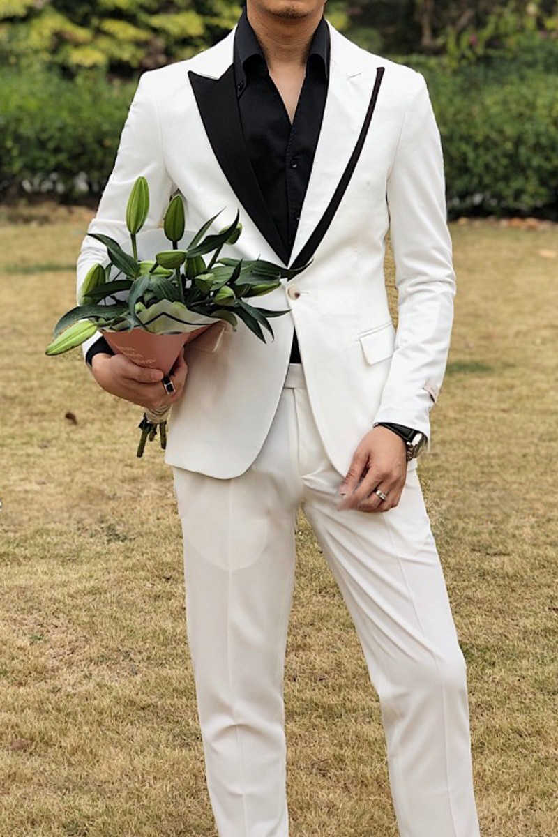 Ternos casuais dos homens com calças clube smoking erkek mont streetwear estilo britânico terno masculino fino ajuste de um botão ternos de casamento para homem