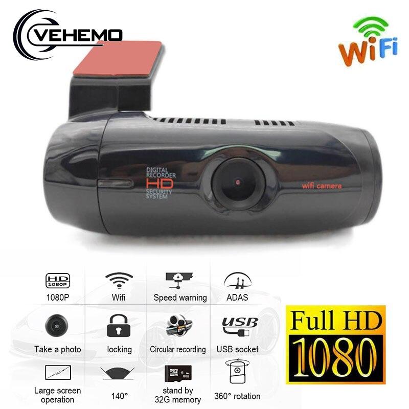 1080P HD Car ADAS DVR Wifi Camera 140 Auto Video Recorder Registrar G-Sensor Motion Detection Night Vision Dash Cam Accessories