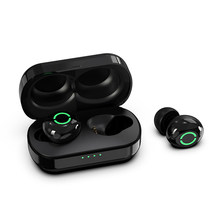 New T5 TWS Bluetooths 5.0 Wireless Earphones Sports Earbuds Noise Cancelling Mini Touch Control Stereo Headset with Charging Box(China)