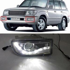 CAPQX Refit converted LED Fog Lamp Light For LAND CRUISER 100 UZJ100 FZJ100 HZJ105 LC100 1999 - 2005 2006 81221-60031
