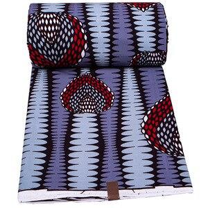 Image 3 - אנקרה אפריקה מודפס בטיק בד שעווה אמיתית טלאי 100% כותנה הטוב ביותר באיכות תפירת חומר עבור המפלגה שמלת Africain Tissu